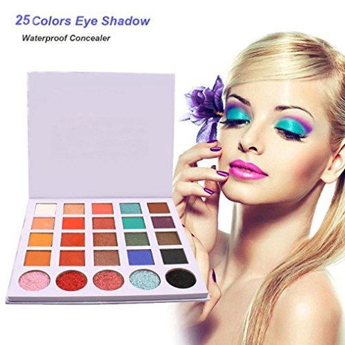 Palette de Ombre a Paupiere Shimmer Fard a Paupiere Revolution Mat Brillant Waterproof Durable Eyeshadow 18 Couleurs Res Luxe Or Mat Nu Paillettes