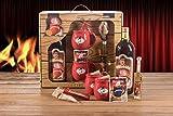 Feuerzangentasse Schatzkiste Geschenkset Feuerzangenbowle rot Rühmann