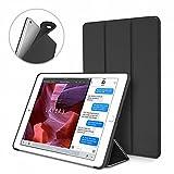 Dteck Hülle für iPad Mini 4, (TM) [Luftkissentechnologie + Wabenmuster] Ultra Schlanke iPad Mini 4 Schutzhülle Superleicht Dreifach Ständer Smart Cover für Apple iPad Mini 4 7.9 Zoll Tablet, Schwarz