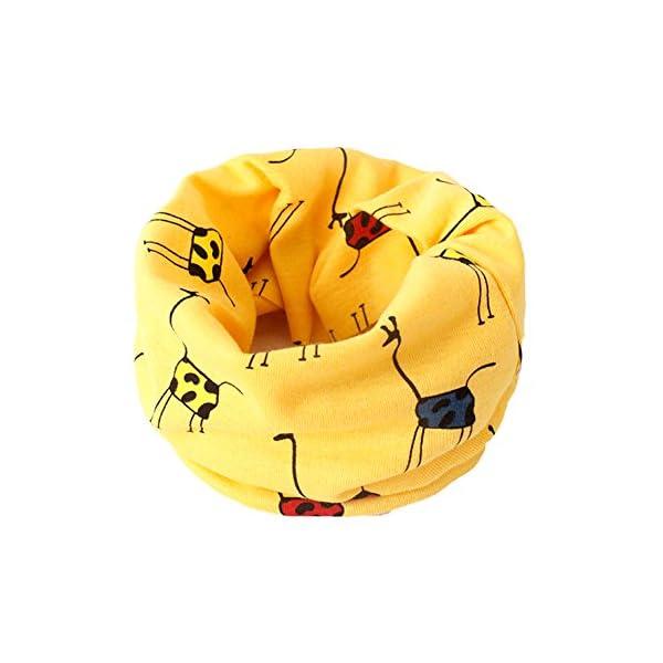 Gespout Invierno Moderno Bebé Bufanda de Algodón Cálido Cuello Manga de Múltiples Funciones de Algodón # 38 Tamaño: 40… 1