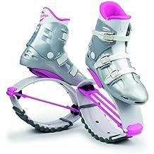 Kangoo Jumps XR 3 - Botas de salto para fitness para mujer, multicolor (blanco y rosa), talla 32-35 (XS)