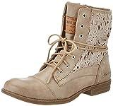 Mustang Damen 1157-527 Combat Boots, Braun (318 Taupe), 40 EU