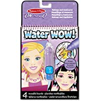 Melissa & Doug - 4 tableros temáticos de Belleza, Water Wow! - Makeup & Manicures (19416)