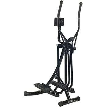 Christopeit Walker deluxe - Bicicleta elíptica (81 x 60 x 148 cm), color negro