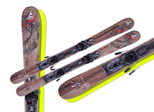 Fun Carver Wolf 125 cm+Tyrolia/Head Power 11 MBS Sicherheitsbindung 2017/2018