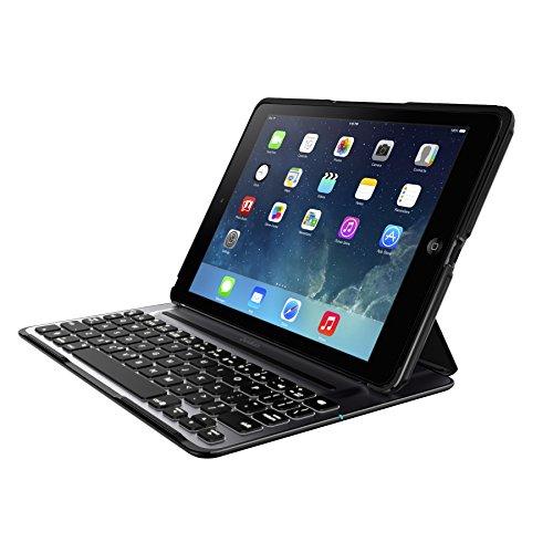 Belkin QODE Ultimate Pro Tastatur für das iPad Air, schwarz (Tastatur-hülle Ipad Air Belkin)