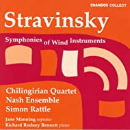 Stravinsky: Symphonies Of Wind Instruments / 3 Pieces / 3 Japanese Lyrics / Ragtime