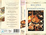 Video Cookery: Recipes For Entertaining; presented by Josceline Dimbleby [VHS]