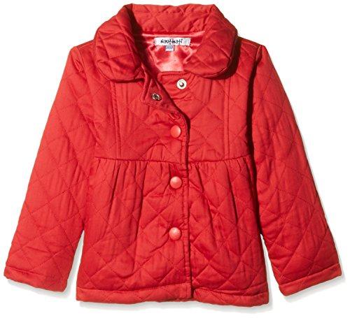 Nauti Nati Baby Girls Jacket (NAW15-299_Red_9-12 Months)