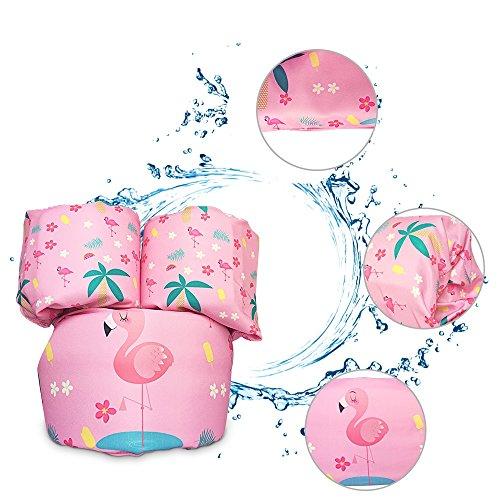 Ginkago Schwimmflügel Baby Kinder Schwimmscheiben Schwimmhilfe für Kleinkinder ab 1 Jahr , Schaumstoff Polsterung