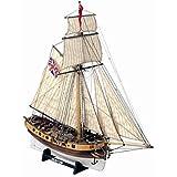 Mamoli - Modello kit barca HUNTER Wooden ship model kit - DUS_MV35