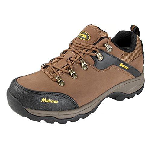 Amurleopard chaussures de randonnee montantes homme/femme Brun