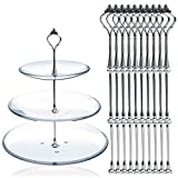 Generic 10pcs 3 Tier Cake Plate Stand Fi...
