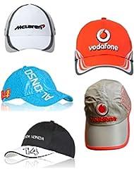 5x 1de Fórmula Uno McLaren botón Alonso Magnussen Caps