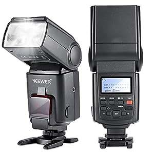 NEEWER NW680/TT680 - Flash Speedlite E TTL per fotocamera per Canon 5D MARK 2 6D 7D 70D 60D 50D T5I T3 T3I T2I SL1 e tutte le altre fotocamere digitali Canon