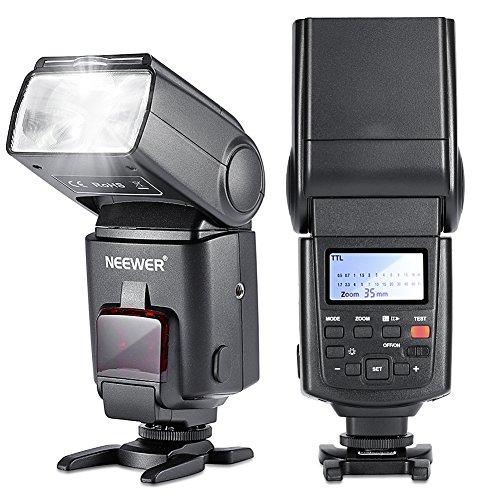 Neewer NW680/TT680Flash Speedlite E TTL für Canon 5D Mark 26D 7D 70D 60D 50D T5I T3T3i T2i SL1und alle Anderen DSLR-Kameras von Canon