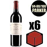 X6 Château Cheval Blanc 2000 75 cl AOC Saint-Emilion Grand Cru 1er Grand Cru Classé A Rouge Vino Tinto