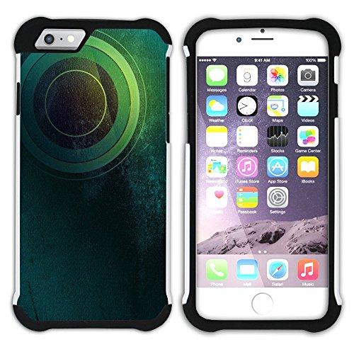 Graphic4You Solar System Map Space Astrology Design Hart + Weiche Kratzfeste Hülle Case Schale Tasche Schutzhülle für Apple iPhone 6 Plus / 6S Plus Design #18