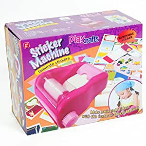 Buy playcrafts girls sticker maker machine craft maker for Amazon arts and crafts for kids
