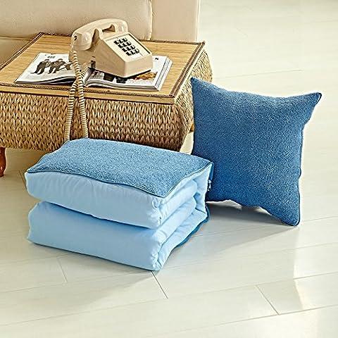 Buttare decorativo Federe Fodera per cuscino Home divano BedCreative coperte cuscini, multifunzione home/retro cuscino di supporto, verde 40cm*40cm11, ,50cm*50cm blue