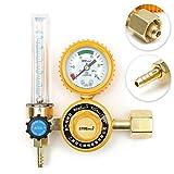 SPK603 0–25MPA Argon CO2MIG Tig Durchflussmesser Regler Durchflussmesser Schweißen Schweißen Gauge