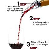 37YIMU Aireador de Vino Pourer con Alta Calidad , Su Selección Mejor