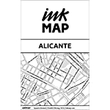 Inkmap Alicante - Karten für eReader, Sehenswürdigkeiten, Kultur, Ausgehen (German)