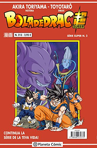 Bola de Drac - Número 213 (DRAGON BALL SUPER)