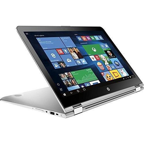 Top Performance HP Envy x360 15.6 2-in-1 FHD IPS 1080p Premium Touchscreen Laptop | Intel Core i5-7200U | 12GB DDR4 RAM | 1TB HDD | Backlit Keyboard | Bluetooth | HDMI | B&O Play | Windows 10-Silver 51Jsq7H3K7L