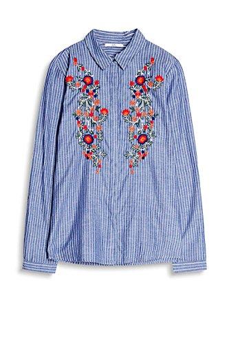 edc by Esprit, Camicia Donna Multicolore (Blue 430)
