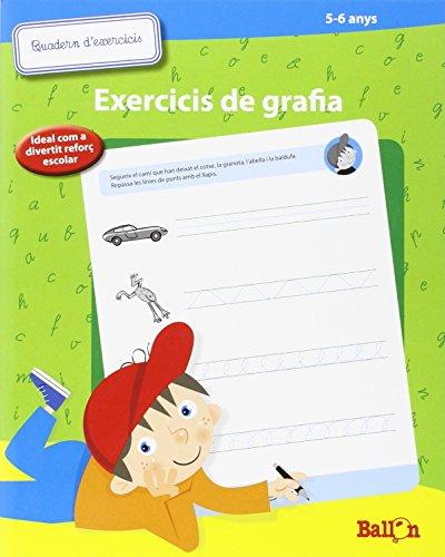 Quadern D'exercicis De Grafia. 5-6 Anys