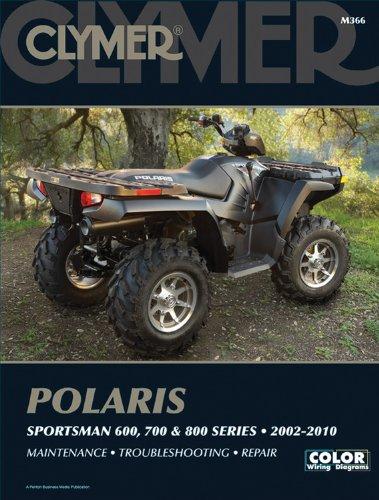 Polaris Sportsman 600, 700, & 800 Series 2002-2010 (Clymer Motorcycle Repair)