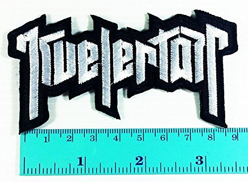 Kvelertak Band logo Heavy Metal Punk Rock Jacket T Shirt Patch Sew Iron on Embroidered Symbol Badge Cloth Sign Costume by Kings sewing Music Band patch