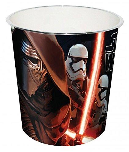 Preisvergleich Produktbild Disney Star Wars Papierkorb Mülleimer Episode VII (SWE7008)
