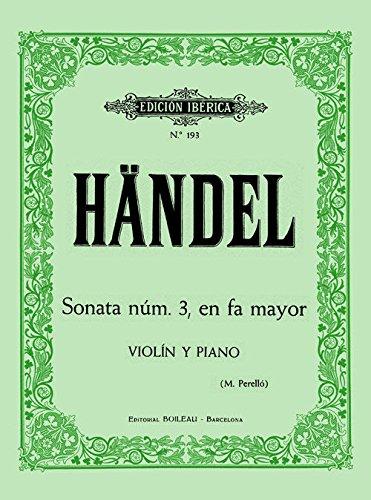 Sonata n 3 en Fa mayor