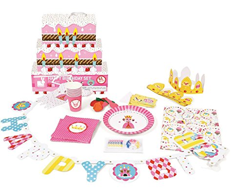 happy birthday set anniversaire princesse kit. Black Bedroom Furniture Sets. Home Design Ideas