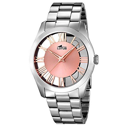 LOTUS 18122/1 – Colección Trendy, reloj de mujer, cadena de acero