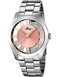 LOTUS 18122/1 - Colección Trendy, reloj de mujer, cadena de acero