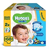 Huggies–Bimbo–Windeln–Größe 6(15–30kg)–2x 34Windeln