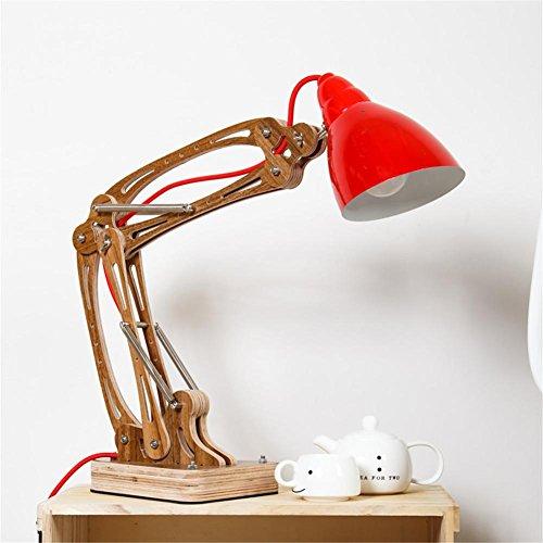 rocker arm Desk Lamp Flexible Long Swing Arm Led Desk Lamp 6W Eye-Care Led Table Lamp Multi-Joint Led Reading Light , 2