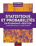 Statistique et probabilités en économie-gestion - Dunod - 20/05/2015