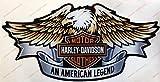Adesivi Compulsivi Sticker, logo Harley Davidson, aigle, effet 3D Pour réservoir ou casque.