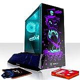 Fierce Scorpion RGB Gaming PC Bundeln - Schnell 4 x 4.0GHz Quad-Core AMD Ryzen 3 2300X, 480GB Solid State Drive, 8GB von 2666MHz DDR4 RAM / Speicher, AMD Radeon RX 570 4GB, Gigabyte B450M DS3H Hauptplatine, GameMax Draco with Shaman HD Armour RGB Computergehäuse, HDMI, USB3, Wi - Fi, Perfekt für High-End-Spiele, Windows nicht Enthalten, Tastatur maus, 3 Jahre Garantie 1123609