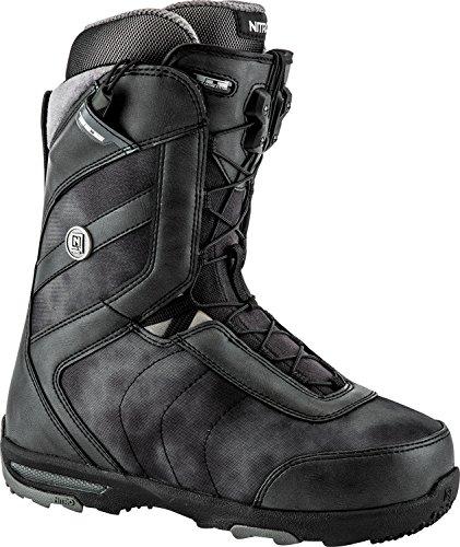 Nitro Snowboards Damen Monarch Tls'18 Snowboard Boot, Black, 25 (Burton Freestyle Boots Snowboard)