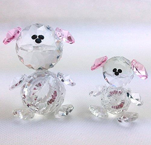 Dlm24221-rosa-6 cm orsetto in cristallo stile swarovski_rosa_6 cm bomboniera