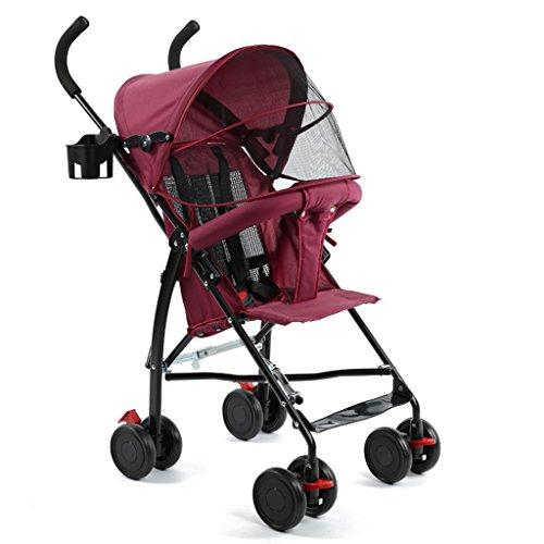 &Kinderwagen Kinderwagen-Kinderwagen-ultra leichter einfacher Regenschirm (Farbe : 5#)