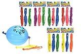 3x Punch Ballon, Box Ballon, mit Druck, Luftballon, Kinderparty