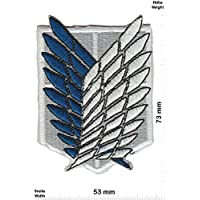 Parches - Attack on Titan - Scouting Legion - Anime - Movie - Iron on Patch