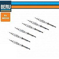6 candelette originales Beru GE102 (Kit 6 ...