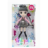 "Shibajuku Girls Yoko Fashion Doll Kids Toy With 4 Hair Accessories 13"" Wave 2"
